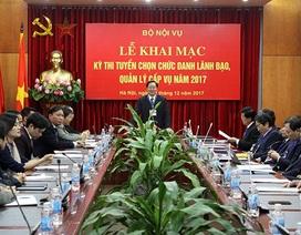 Loại 6 ứng viên, 2 chuyên viên trúng Vụ phó Bộ Nội vụ