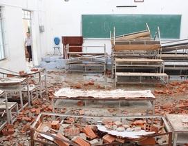 Trường Đại học Nha Trang thiệt hại 25 tỷ đồng vì bão Damrey