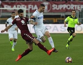 Torino 2-2 Inter: Vỡ mộng Champions League