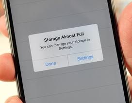 Giảm bớt nỗi lo thiếu bộ nhớ trên iPhone bằng tính năng ẩn của iOS 10