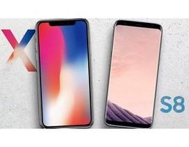 Samsung sẽ kiếm được tiền nhiều từ iPhone X hơn cả từ Galaxy S8?