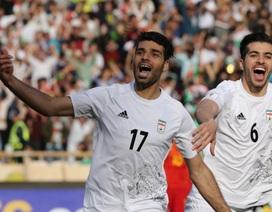 Thua Iran, Trung Quốc sắp tan mộng dự World Cup 2018