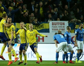 """Italia - Thụy Điển: """"Thần chết"""" cận kề"""
