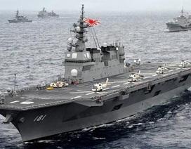 Tàu chiến Nhật Bản đưa các sĩ quan Đông Nam Á thị sát Biển Đông
