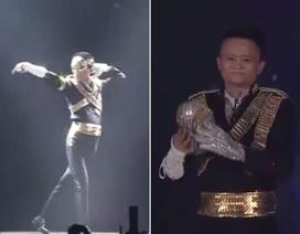 Tỷ phú Jack Ma nhảy nhạc Michael Jackson trong tiệc sinh nhật Alibaba