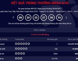 Vé trúng độc đắc 112 tỷ đồng được phát hành tại Hà Nội