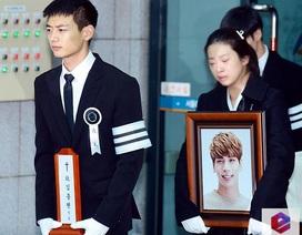 Tang lễ đầy nước mắt của thành viên nhóm Shineee