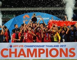 Những khoảnh khắc U15 Việt Nam bước lên đỉnh cao nhất Đông Nam Á
