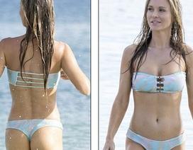 Cựu người mẫu Playboy bốc lửa trên biển