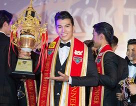Siêu mẫu Ngọc Tình đăng quang ngôi vị Nam vương Quốc tế 2017