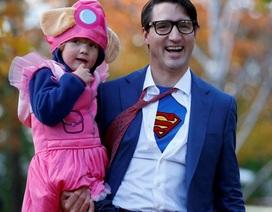 Bất ngờ với tạo hình siêu nhân của Thủ tướng Canada