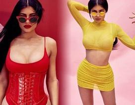 Kylie Jenner sexy trong bộ ảnh quảng cáo mới