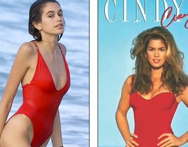 Con gái Cindy Crawford càng lớn càng giống mẹ