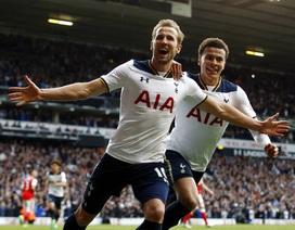 Tottenham 2-0 Arsenal: Dấu ấn của Alli và Kane