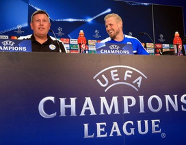 """Leicester """"thét giá"""" cao bảo vệ thủ thành Kasper Schmeichel"""