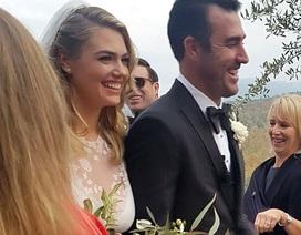Siêu mẫu Kate Upton bất ngờ lên xe hoa với bạn trai giàu có