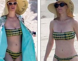 Katy Perry mặc lại áo tắm cũ