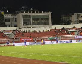 Sân Thống Nhất còn nhiều chỗ trống ở trận U20 Việt Nam-U20 Argentina