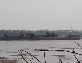 """Bắc Giang: """"Tuýt còi"""" doanh nghiệp khai thác cát, sỏi dính sai phạm!"""
