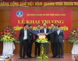 Ngành Nông nghiệp khởi động cổng dịch vụ công trực tuyến