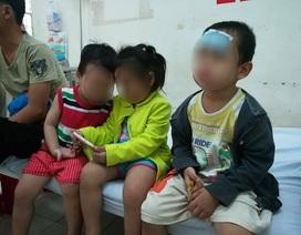 Khám sức khỏe các cháu bé vụ bảo mẫu bạo hành trẻ kinh hoàng