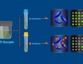 Xét nghiệm tìm ra vi khuẩn kháng kháng sinh trong 30 phút