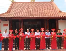 Khánh thành nhà thờ và phần mộ 53 liệt sỹ hy sinh tại Cầu Nhe