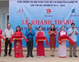 Quảng Trị: Khánh thành điểm trường tiểu học tại huyện miền núi