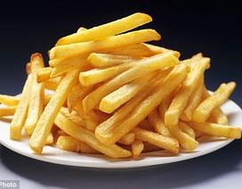 Vì sao chỉ nên ăn khoai tây chiên mỗi tháng 1 lần?