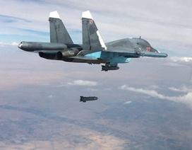 Nga không kích tiêu diệt 120 phiến quân IS tháo chạy khỏi thành trì ở Syria