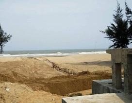 """Sầm Sơn cam kết """"xóa sạch"""" tình trạng nước thải đổ ra biển trong tháng 5"""