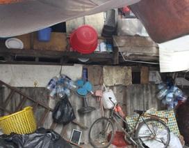 """Cảnh sống nhếch nhác nơi """"khu ổ chuột"""" khó tin giữa lòng thủ đô"""