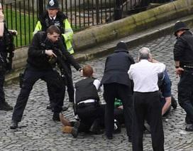 Diễn biến vụ khủng bố gần trụ ở quốc hội Anh khiến 5 người chết