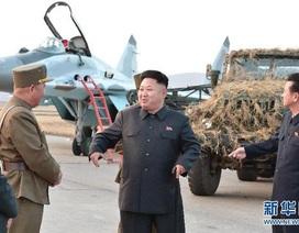 Nhà lãnh đạo Triều Tiên chỉ thị quân đội sẵn sàng tấn công tàu sân bay
