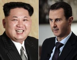 Triều Tiên - Syria cam kết thắt chặt quan hệ sau vụ nã tên lửa của Mỹ