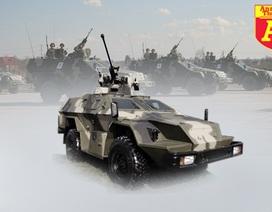 [Infographic] Sức mạnh loại xe đặc nhiệm Nga bỏ lại khi bị IS tấn công