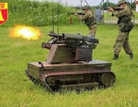 [Infographic] Bất ngờ Nga triển khai robot chiến đấu có khả năng tiêu diệt chính xác khủng bố IS