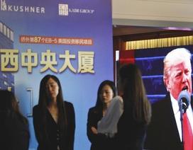 """Nhà giàu Trung Quốc sôi sục sau vụ """"rao bán"""" visa của gia đình con rể ông Trump"""