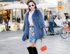 Hoa hậu Kỳ Duyên thu hút nhiếp ảnh gia, tự tin nói tiếng Anh tại Milan