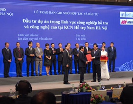 Khu công nghiệp hỗ trợ Nam Hà Nội: Ký kết biên bản ghi nhớ hợp tác đầu tư