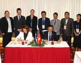 Việt Nam – Australia ký bản ghi nhớ về chống đánh bắt cá trái phép