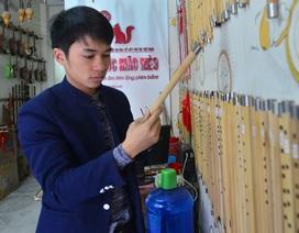 Khởi nghiệp từ niềm đam mê với cây sáo
