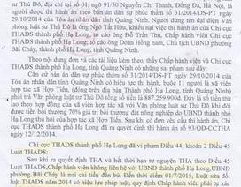 """Quảng Ninh: VKSND Tối cao xác định sai phạm trong vụ thi hành án kiểu """"sống chết mặc bay"""""""