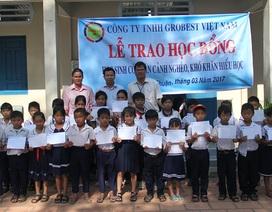 Thêm 25 suất học bổng Grobest Việt Nam được trao đến các em học sinh Bình Thuận