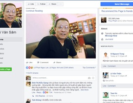 Cảnh giác: Toàn bộ tài khoản Facebook của Lại Văn Sâm là giả mạo