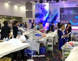 Từ 13-15/10: Gần 700 thí sinh nghề làm đẹp so tài tại Hà Nội