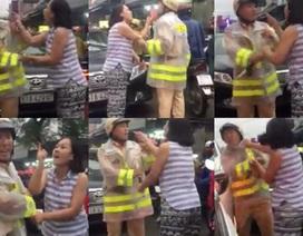 Nữ tài xế đi sai làn, chửi bới, lăng mạ thậm tệ CSGT