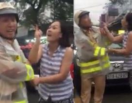 Cho gia đình bảo lãnh nữ tài xế lăng mạ, chửi bới CSGT