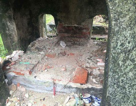 Kẻ gian muốn tìm châu báu khi đào bới lăng mộ mẹ vua Dục Đức?