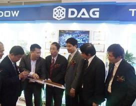 DAG tài trợ chính cho Vietbuil Hà Nội 2017